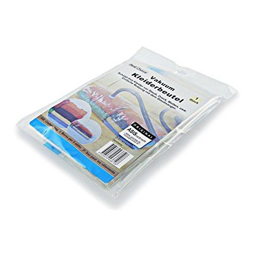 ASIS nettrade Vêtements Sacs de Rangement sous Vide pour vêtements et Linge – Lot de 3–85 x 53 cm – Réduit Le Volume de 75%.