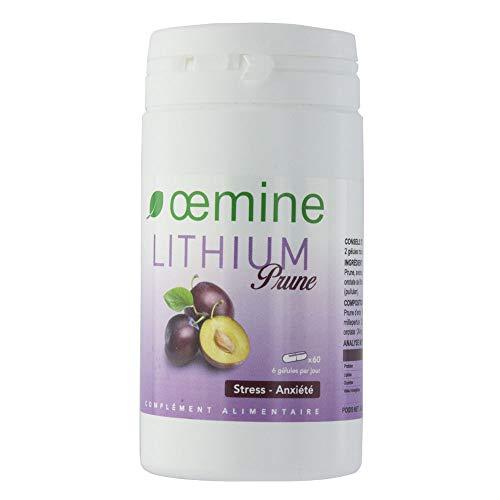 Oemine Ciruela de litio, 60 Cápsulas 120 gr