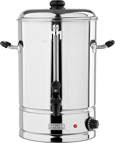 YATO Profi Gastro Wasserkocher 12 Liter 2500 Watt Edelstahl Teekocher Glühweinkocher Glühweinkessel Heißgetränkeautomat Teekocher Kafeekocher