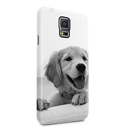 Cute Little Baby Labrador Dog Hund Dünne Handy Schutzhülle Hardcase Aus Hartplastik Hülle Kompatibel mit Samsung Galaxy S5 Mini Handyhülle Case Cover