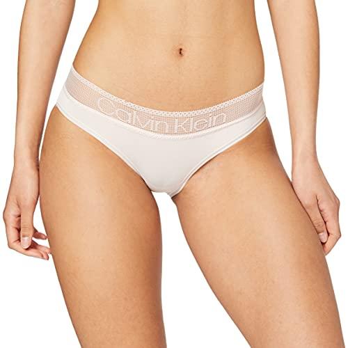Calvin Klein Damen Bikini Taillenslip, Rosa (Nymph\'s Thigh 2nt), No Aplica (Herstellergröße: L)