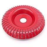 INHEMING Mola Smerigliatrice Angolare per Legno, Disco Abrasivo in Carburo di Tungsteno Alesaggio Ø 100 mm x 15 mm