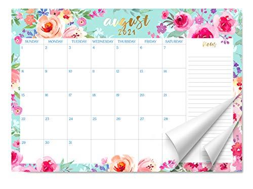Sweetzer & Orange 2021 Calendar. 16 Month Desk Calendar 2021-April 2022 – Floral Design Monthly Planner, Daily Desk Pad Calendars for Home or Office Organization. 12 x 17 Desktop Calendar or Wall