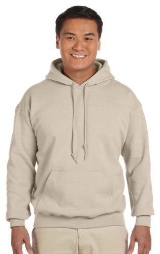 Gildan Adult Heavy Blend� Hooded Sweatshirt (Sand) (Medium)