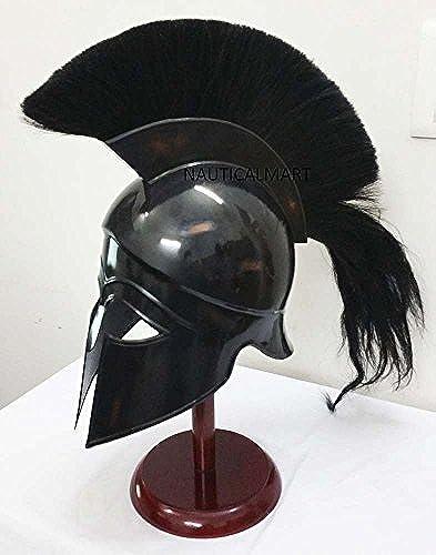 Greek Corinthian Helmet Ancient Medieval Armor Knight Spartan Replica Helmet by NAUTICALMART