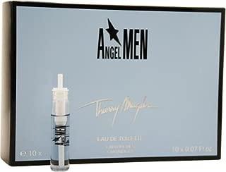 Angel By Thierry Mugler For Men. Eau De Toilette Refill Cartridges 10 X .07-Ounces