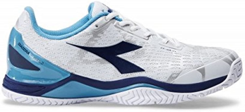 Diadora - Speed Blaushield Blaushield 2 AG Herren Tennisschuh (Weiß hellblau) - EU 42,5 - UK 8,5  Online-Shopping und Modegeschäft