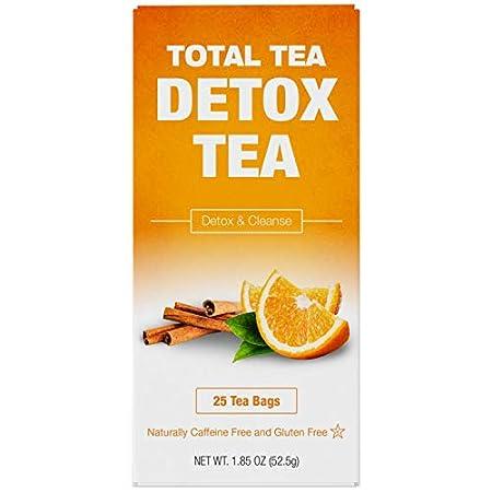 Detox products Total Tea Caffeine Free Detox Tea – All Natural – Slimming Herbal Tea