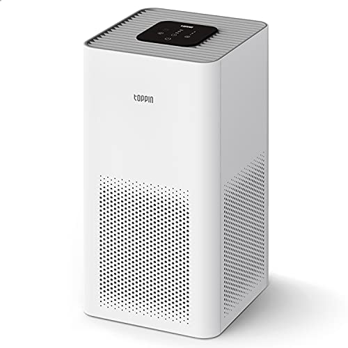 TOPPIN Air Purifiers for Home Allergies Pets Hair...