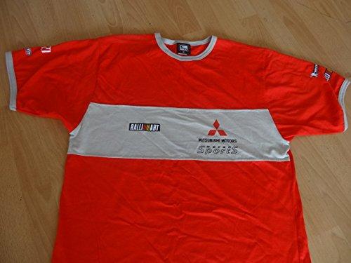 Mitsubishi WRC T-Shirt rot/grau Größe XL