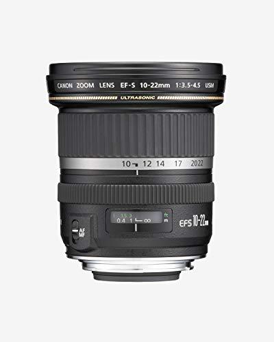 Lente EF-S 10-22mm F/3.5-4.5 USM, Canon, Preto