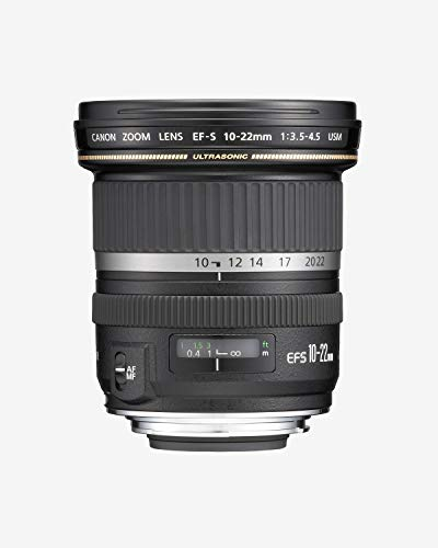 Canon EF-S 10-22mm f/3.5-4.5 USM SLR Lens for EOS...