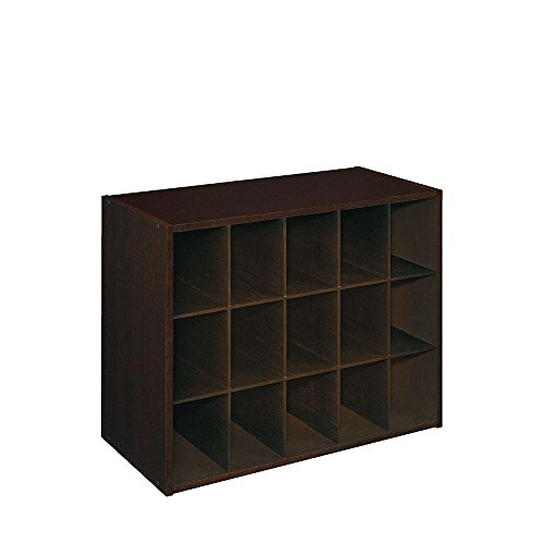 ClosetMaid 8929 Stackable 15-Unit Organizer, Espresso