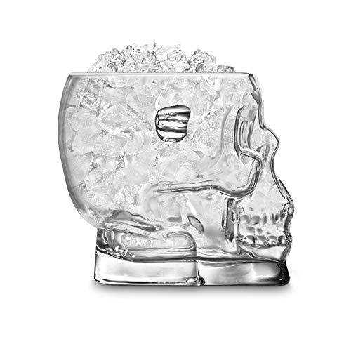 Final Touch Glass BrainFreeze Skull Ice Bucket