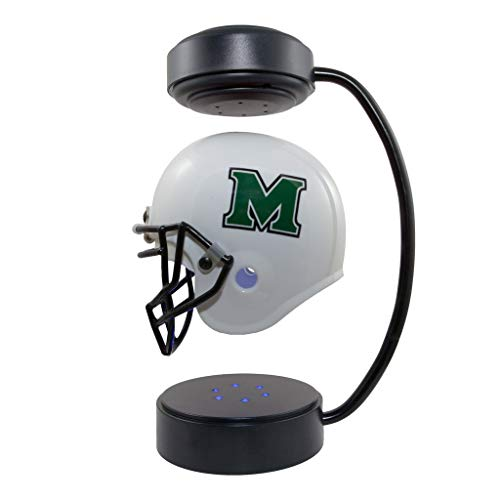 Marshall Thundering Herd NCAA Hover Helmet - Collectible Levitating Football Helmet with Electromagnetic Stand