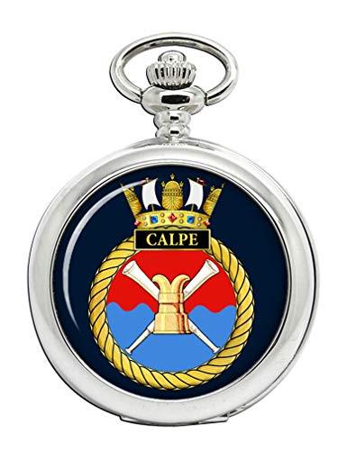 HMS Calpe, Real Azul Marino Reloj de Bolsillo