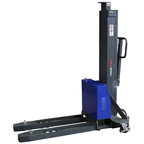 Selbstverladender Mitnahmestapler elektrisch Selbstladestapler 1,3 m / 1300 mm Hubhöhe - 0,5 t / 500 kg Tragkraft