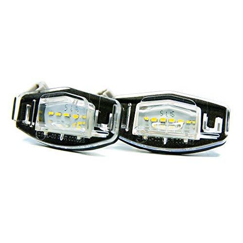 2 x LED Kennzeichenbeleuchtung Xenon Kennzeichen Leuchte Beleuchtung