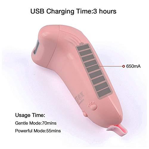 ベビーネイルトリマー、電気ネイルクリッパー、A2速UV消毒安全ブレードは、赤ちゃんのために特別に設計します。