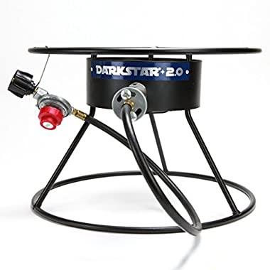 Dark Star 2.0 Propane 65,000 BTU Burner for Home Brew Outdoor Beer Brewing