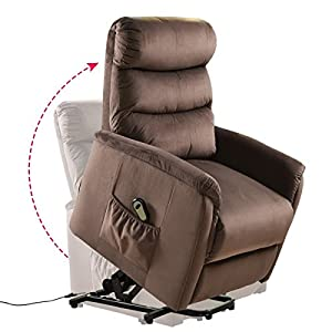 『Power Lift Chair』▶▷ Giantex power lift chair is easy to operate and feature a very quiet and smooth lift and recline. Counter-balanced lift mechanism pushes the entire chair up to help the senior stand up easily, it will smoothly and safely lift you...