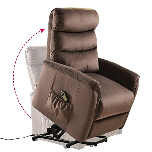 Our #4 Pick is the Giantex Power Lift Chair Recliner