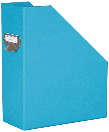 Rössler SOHO 115mm A4 Magazine Box with Handle and Index Holder - Bright Blue