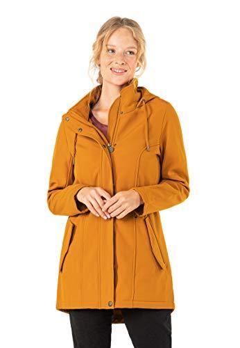 Eight2Nine Damen Softshell-Jacke mit Innenfleece wetterfest orange M