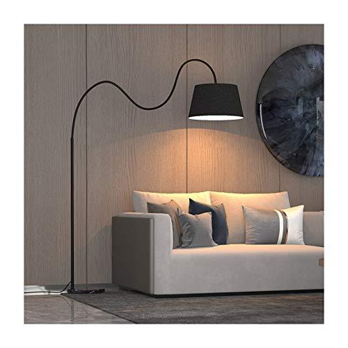 Lámpara LED pie, Interruptor de pie pie Moderna Minimalista Sala de Estar Hotel Restaurante Iluminación Decoración pie Nivel de energía de la luz de Lectura de protecció