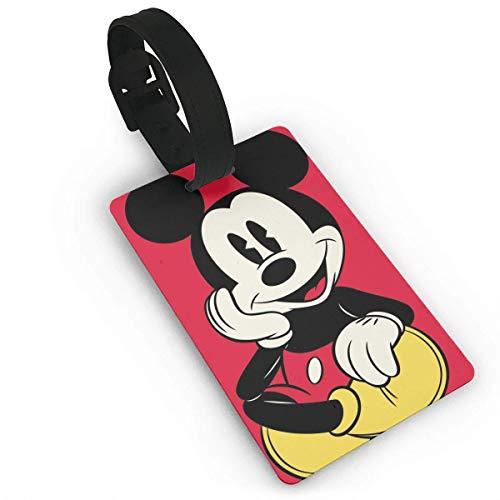 Lage Tags Mouse Maleta Etiquetas Bolsa Etiqueta Identificador de Viaje Etiqueta de equipaje
