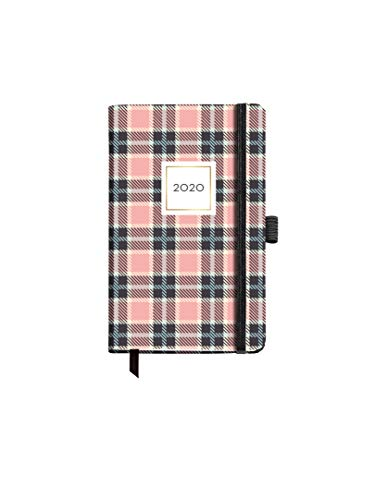 Miquelrius 31196 - Agenda 2020, Semana Vista Horizontal (90 x 140 mm), de bolsillo, Cuadros, Castellano