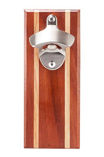 Bruntmor, CAPMAGS Strong Magnetic w/Zinc Alloy Beer Opener & Cap Catcher - Metal Magnetic (Epitong)
