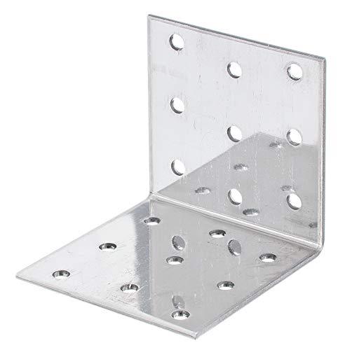 GAH-Alberts 339067 Lochplattenwinkel | sendzimirverzinkt | 40 x 40 x 60 mm | 20er Set
