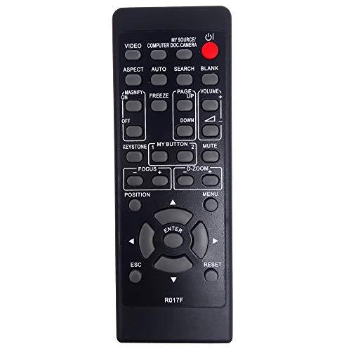 Leankle Telecomando R017 per Hitachi Proiettori CP-A220N/NM, CP-A300N/NM, CP-AW250N/NM, iPJ-AW250NME/NG, CP-RX79, CP-RX82, CP-RX93, CP-RX94, CP-WX3014WN, CP-WX4021N, CPWX8, CP-X2020 etc