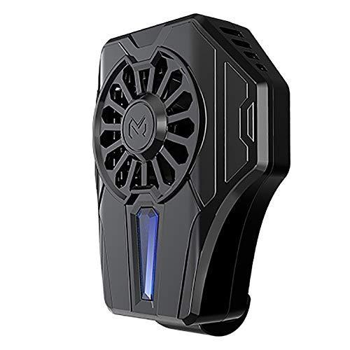 LKK-KK Teléfono móvil Universal de refrigeración del radiador Semiconductor Teléfono USB Recargable Ventilador del refrigerador del cojín del Juego del sostenedor del Soporte del radiador Mute Fan