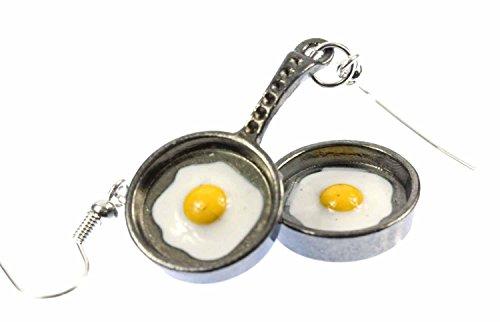 classement un comparer Œufs au plat, boucles d'oreilles, poêles à frire, œufs en métal, poêles à mini lames…