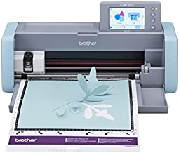 Brother ScanNCut SDX125E Electronic DIY Cutting Machine with Scanner, Make Custom Stickers, Vinyl Wall Art, Greeting Cards and More, with 682 Included Patterns