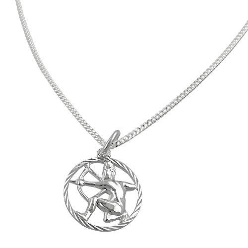 Juego Zodíaco Sagitario+cadena de plata 925
