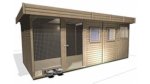 Unbekannt Karibu Hundehütte Hundezwinger Größe 4 B 19 mm