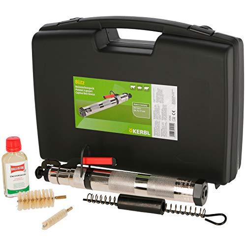 Kerbl Blitz-Viehbetäubungsapparat mit Zubehör im Koffer 21255