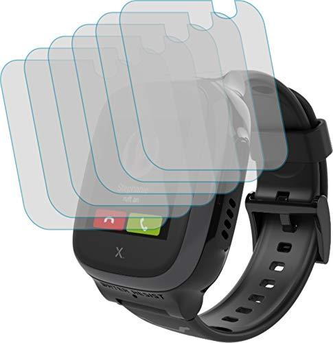 4ProTec 6X Display-Schutz-Folie KLAR für XPLORA X5 Play