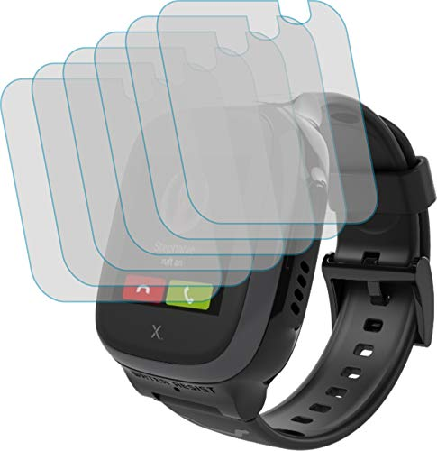 4ProTec I 6X Schutzfolie KLAR passgenau für XPLORA X5 Play - Bildschirmschutzfolie Schutzhülle