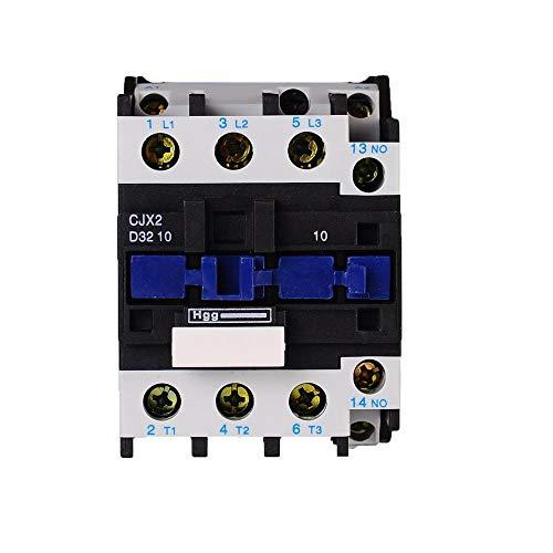 ETial CJX2-3210 Distribución de CA Contactor eléctrico 24V 50Hz Bobina 32A Trifásica 3 polos 1NO