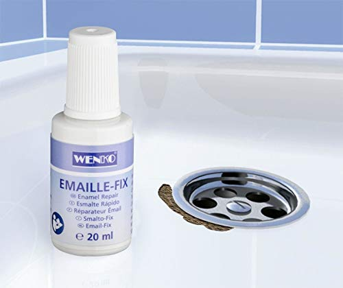 Emaille-Fix, weiß (1 Stück)