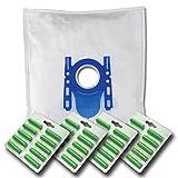 40 x Mr.Clean Staubsaugerbeutel + 40 Duftstäbe geeignet für Bosch BGL 35 MON BGL35MON8 - kompatibel zu Swirl S 67 S67