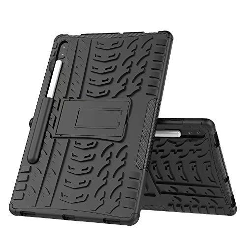 Beschermhoes voor Samsung Galaxy Tab S6 10.5 2019 SM-T860 T865 Beschermhoes voor Samsung Galaxy Tab S6 10.5 2019 SM-T860 T865 Kinderhoes Siliconen Schokbestendig zwart.