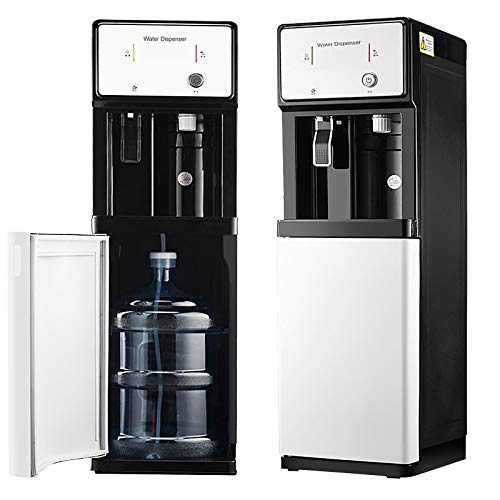 4U.SX - Dispensador de agua embotellada de carga inferior con 3 segundos de calentamiento instantáneo, 3 ajustes de temperatura- habitación caliente y fría, ideal para oficina y hogar