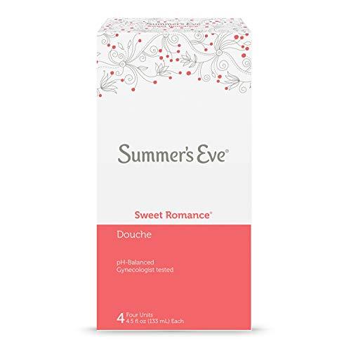 Summer's Eve Douche | Sweet Romance | 4-4.5 Fluid Ounces Each | pH Balanced & Gynecologist Tested