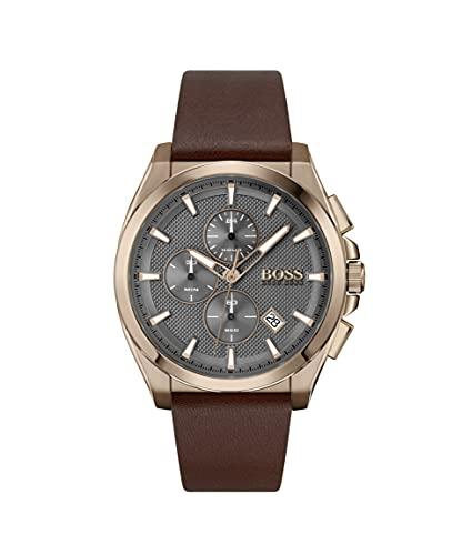 Hugo Boss Reloj analógico para Hombre de Cuarzo con Correa en Cuero 1513882
