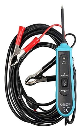 Spannungsprüfer,Auto Leitungstester,6-24-V-Gleichspannungs-Durchgangsprüfgerät, Stütz- Und Lokalisierungs-Kurzschluss-Testwerkzeug Für Autos, Stromführende Kabel, Schalter, Sicherungen Und Stromkreise
